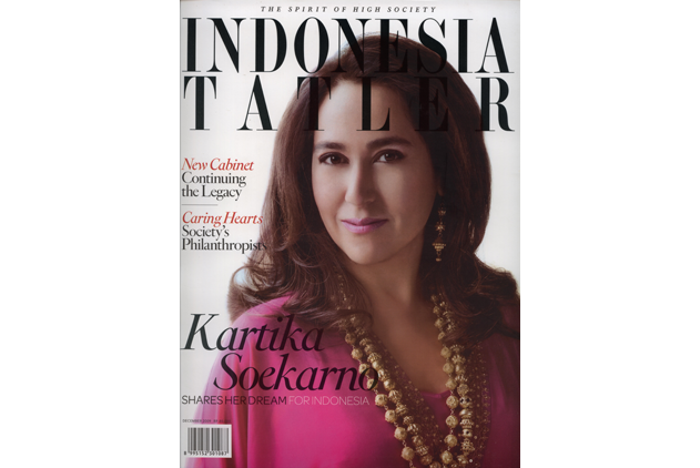 LONA featured on Tatler Indonesia - Front Cover - Lona Bali Makeup